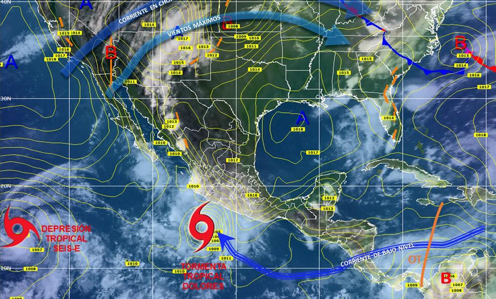 Pron stico del tiempo en m xico para lunes 13 de julio del for Pronostico del tiempo accuweather