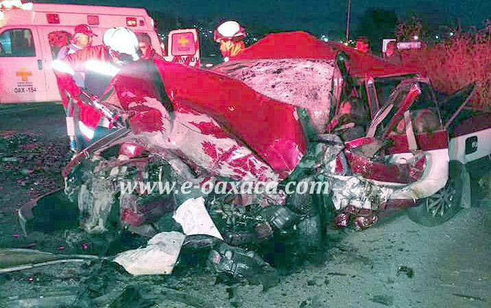 Mueren siete personas en carretera Panamericana, en Oaxaca