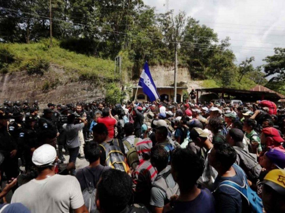 Resultado de imagen para nueva caravana ingresa mexico