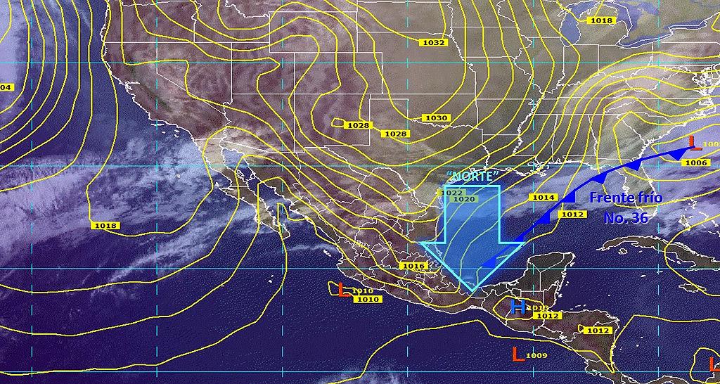 Pronostican fuertes lluvias en al menos diez estados de la República