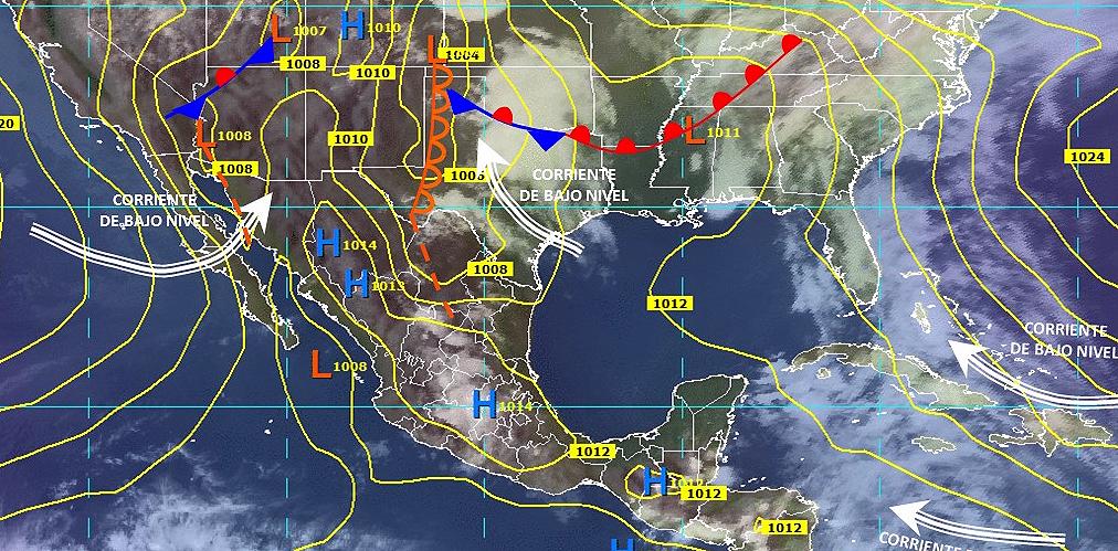 Mexico Weather Forecast For Friday May 18 2018 E Oaxaca Com