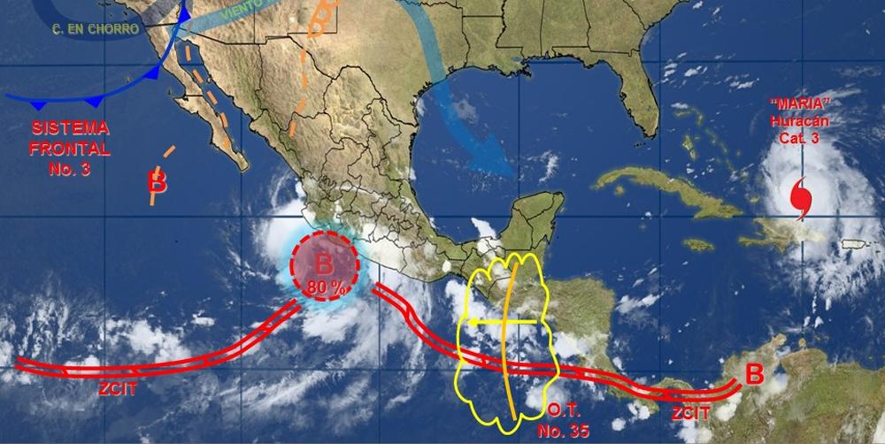 Se formó la Tormenta Tropical