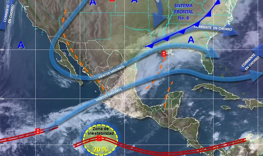 Se mantendrá el frío en gran parte de México