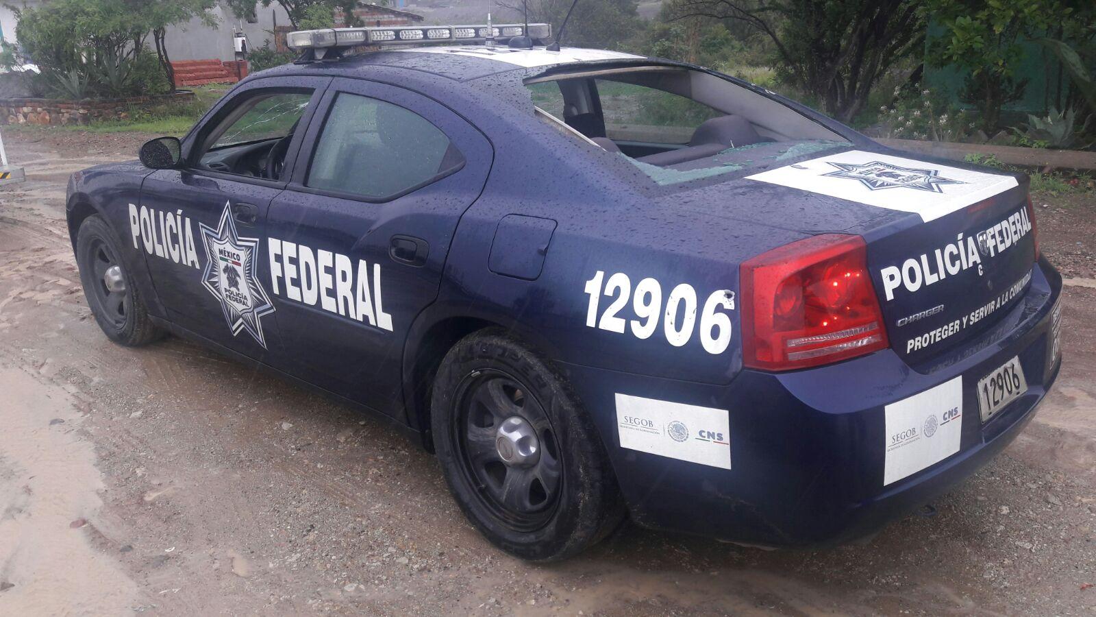Atacan a policías federales en Oaxaca