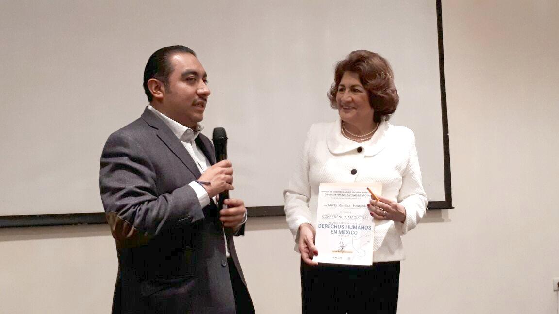 El procurador destaca avances en materia de derechos humanos