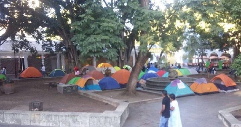 Advierte IEEPO de sanciones y descuentos a paristas en Oaxaca