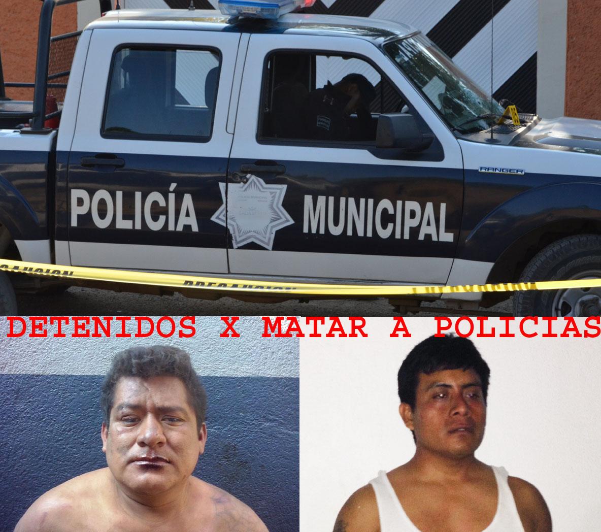 entre policías y delincuentes en la ciudad y puerto de Salina Cruz