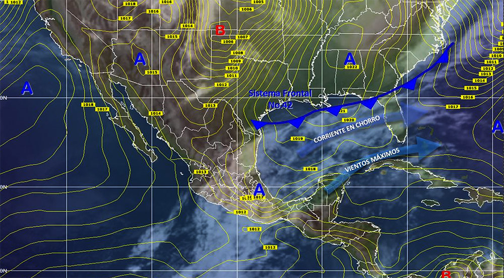 Pronostico Del Clima En Mexico Para Miercoles  De Marzo