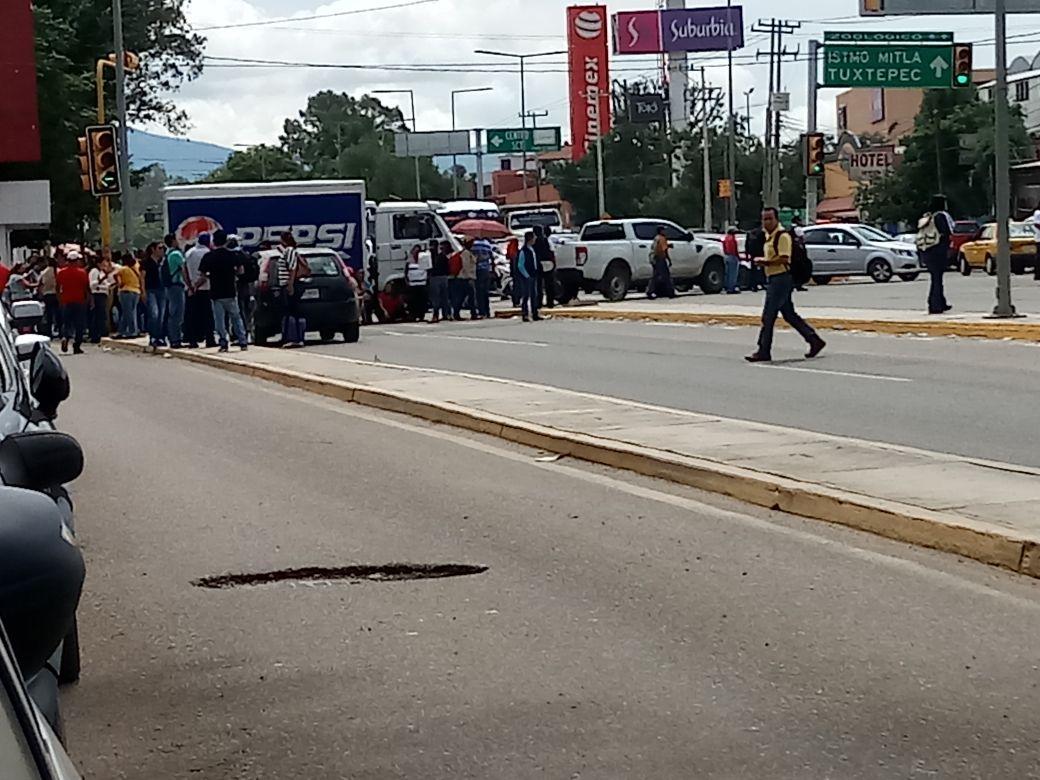 Montan operativo por la llegada de Peña Nieto a Oaxaca