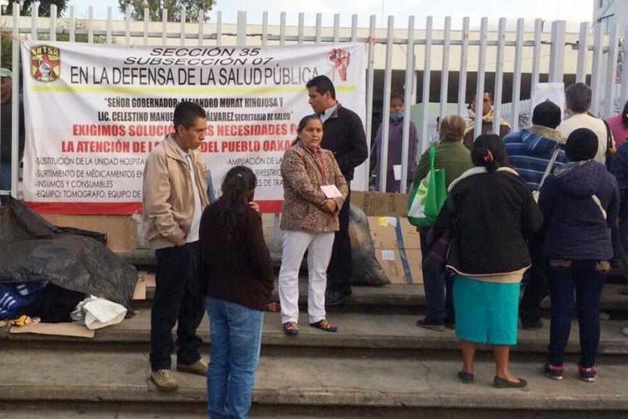 En crisis, Hospital General en Oaxaca; no hay medicamentos y falta personal