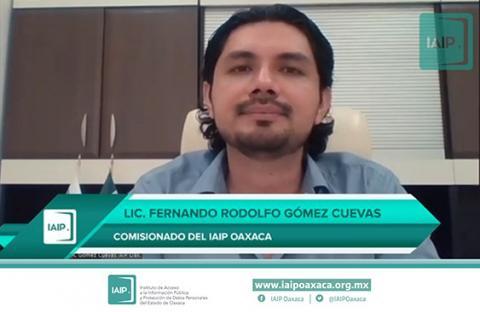 Comisionado Fernando Gómez Cuevas