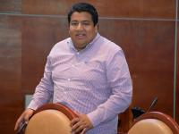 Dip. Ángel Domínguez, integrante de la Com. de P.C. del Congreso de Oaxaca