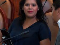 Dip. Laura Estrada Mauro, presidenta de la JUCOPO.