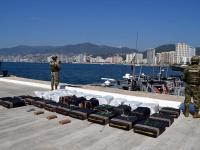 La droga fue llevada a Acapulco, Guerrero.