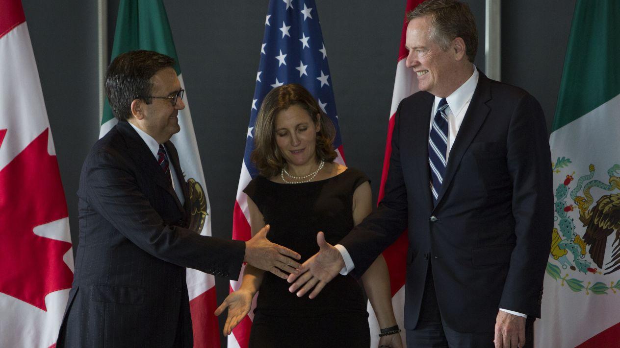 TLCAN: Autoridades de México y EU planean reuniones en Washington este jueves
